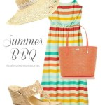 Barbecue Outfit Idea: Memorial Day to the Beach