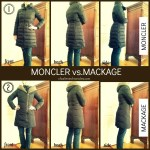 Moncler vs Mackage