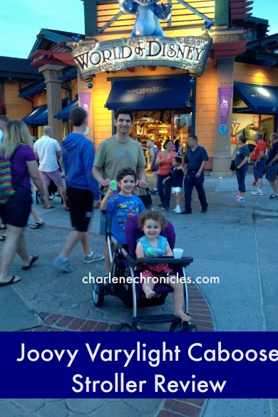 joovy varylight caboose stroller review
