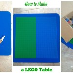 How to Make a Lego Table