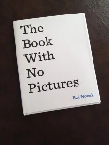 book with no pictures bj novak