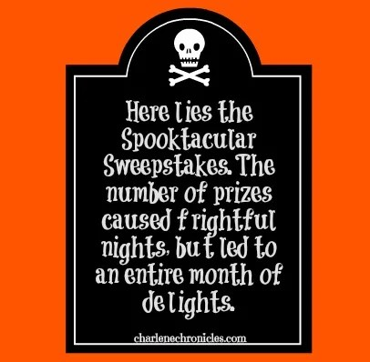 spooktacular sweepstakes