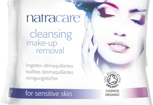 Natracare Cleansing Make-up Removal Wipes - hi res