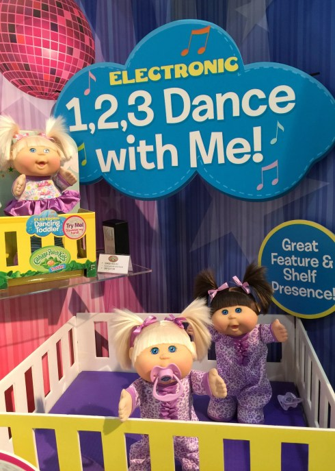 dancing cabbage patch kids