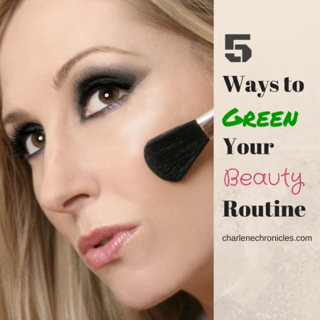 green beauty routine