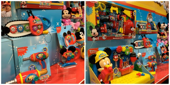 mickey mouse clubhouse construction tools toys