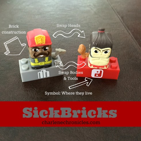 sick bricks charlene deloach charlene chronicles spinmaster