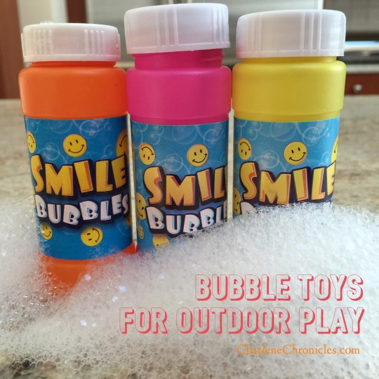 outdoor bubble toys