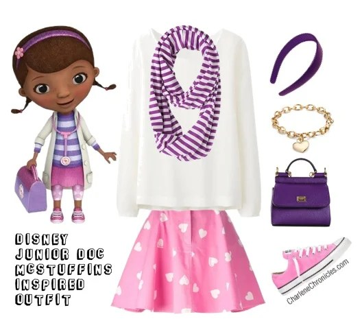 doc mcstuffins inspired outfit