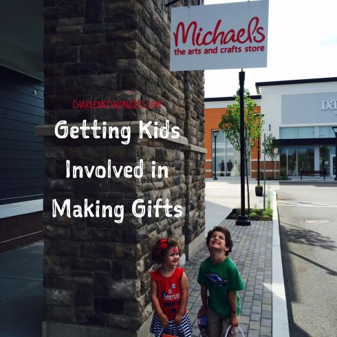 encouraging kids to make gifts