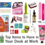 Items to Have in Your Work Desk Drawer