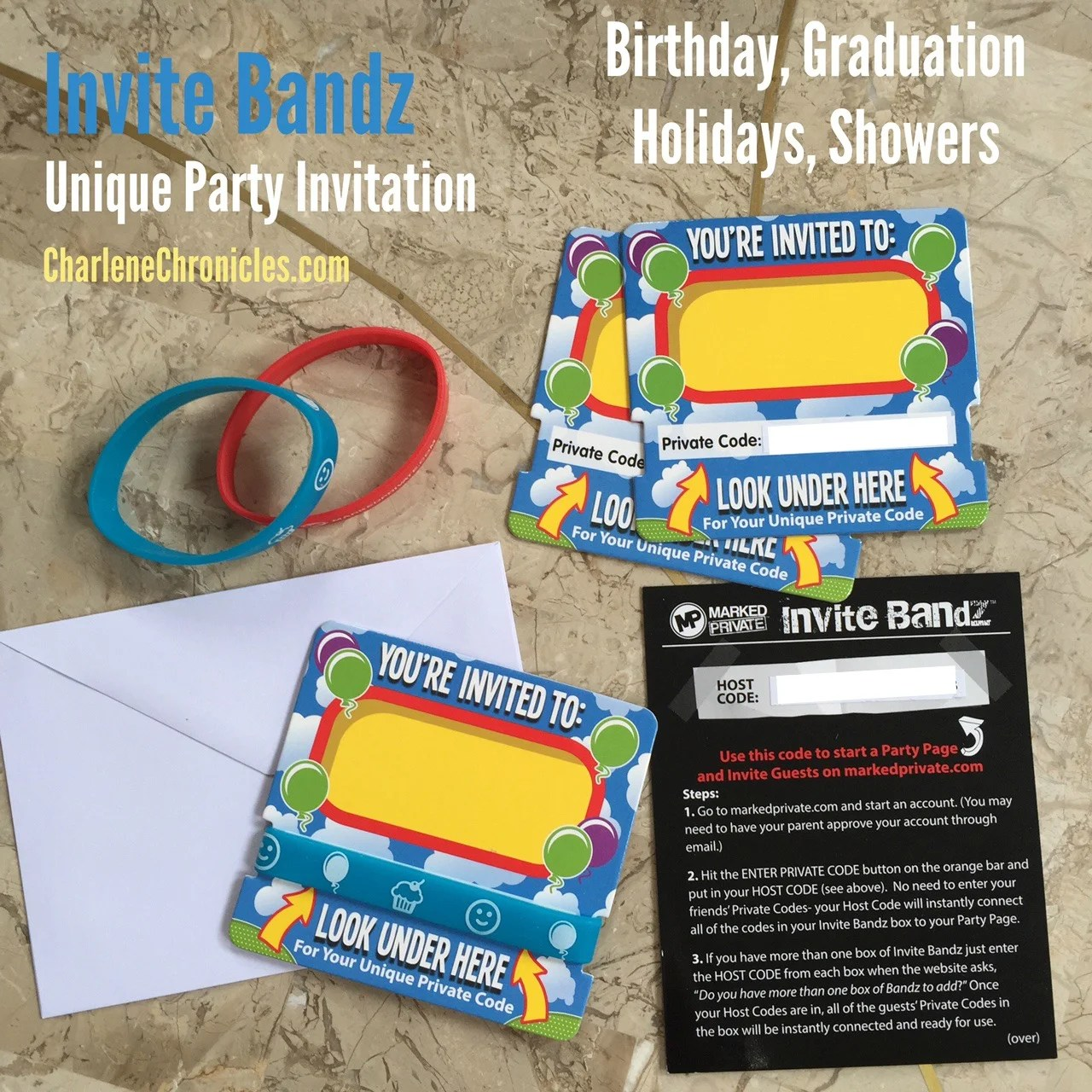 A Unique Party Invitation for Sure! - Charlene Chronicles