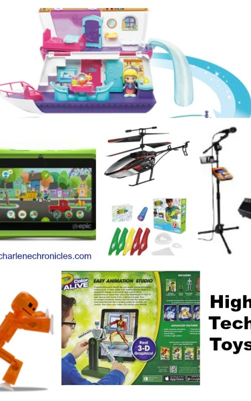 High Tech Toys Charlene Chronicles Holiday of Play
