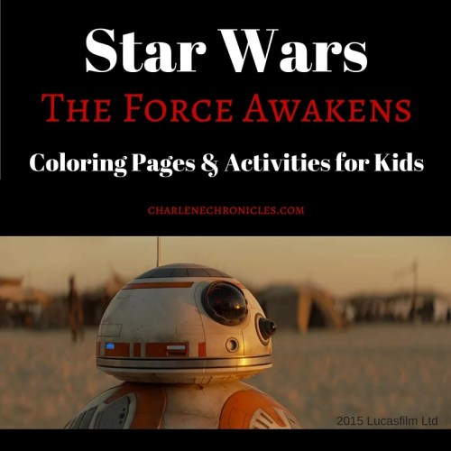 star wars the force awakens coloring pages for kids