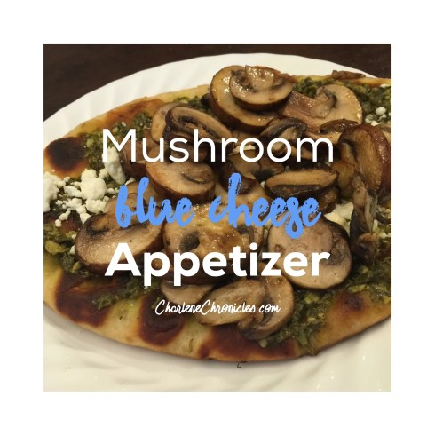 mushroom blue cheese appetizer