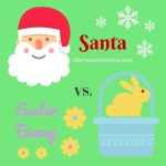 6 Reasons Santa is Better than the Easter Bunny