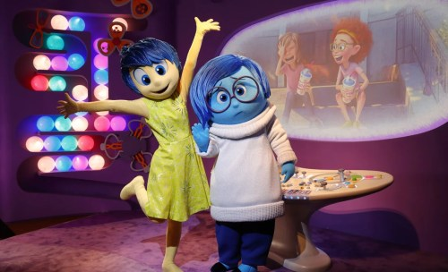 Joy and Sadness, Epcot Character Spot  (Disney)
