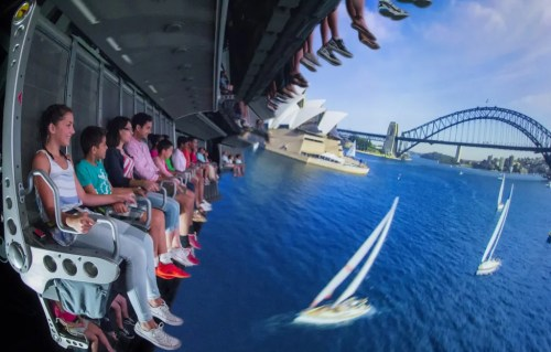 The Soarin' Around the World (Photo composite, Disney)