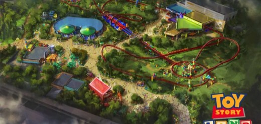 Toy Story Land. (Disney Parks)