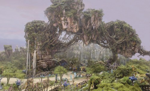Pandora, AVATAR (Concept art, Walt Disney Imagineering)