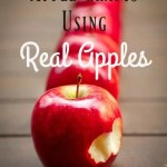Apple Crafts Using Real Apples