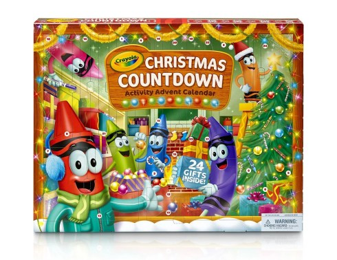 advent calendar crayola kids
