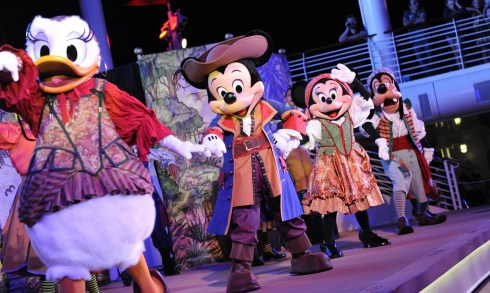 disney wonder pirates night