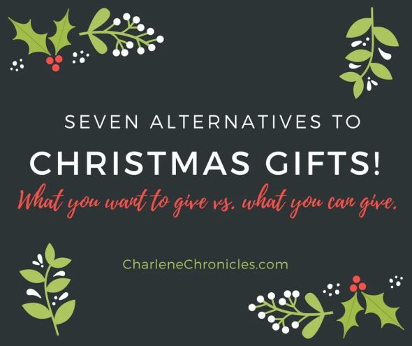 alternative gift ideas for christmas