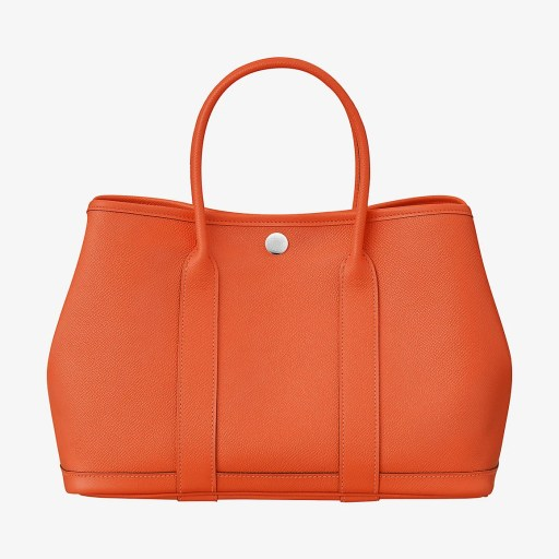 hermes garden party leather