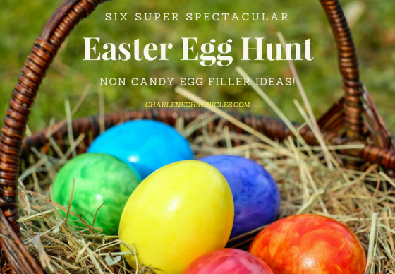 Six No Candy Easter Hunt Egg Filler Ideas