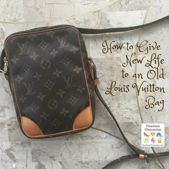 how to clean old louis vuitton