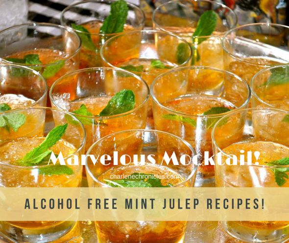 alcohol free mocktail mint julep recipe