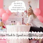 How Much Money to Spend on a Birthday Gift