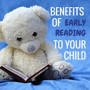 benefits of early reading to children by charlenechronicles.com
