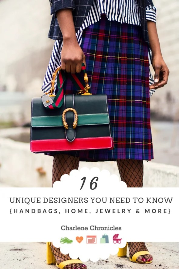 unique gift ideas from unique designers by Charlene Chronicles