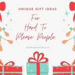 Unique Gift Ideas for Sister-In-Laws and More Hard to Please People