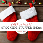 Last Minute Stocking Stuffers – Toys