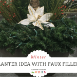 An Easy Budget Friendly Idea for a Classic Winter Planter
