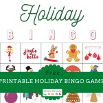 Play Holiday Bingo With This Free Printable for Kids