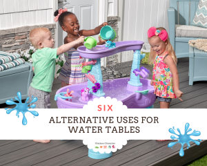 kids water table uses