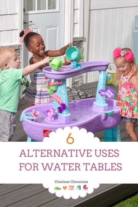 kids water table uses without water