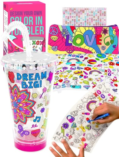 color in tumbler design your own