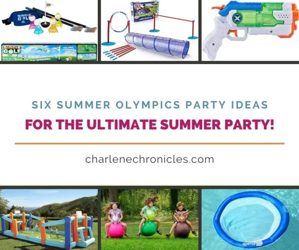 summer olympic themed party ideas
