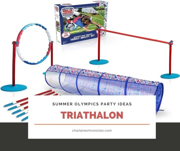 summer olympic themed party ideas triathalon
