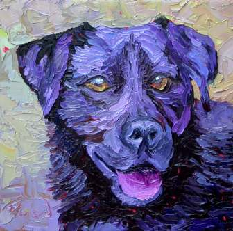 animals pet portraits animals and pet portraits plein air studio oil paintings by Charlene Marsh pet portrait animal oil painting
