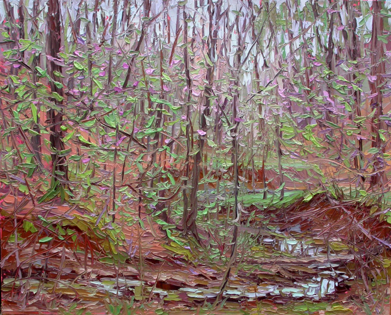 Plein air oil painting by Charlene Marsh