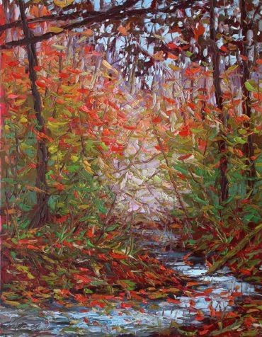 Oil painting by Charlene Marsh