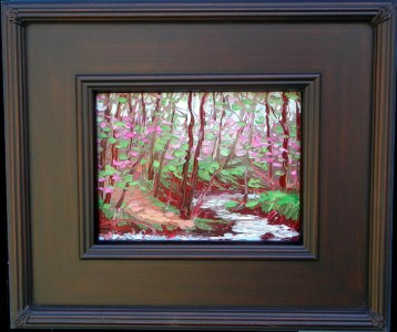 020617 S 6x8 no2 Spring in the Forest oil painting Charlene Marsh