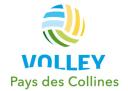 Logo Volley Pays des Colinnes