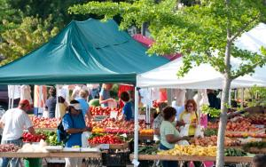 Taking risks in a farmers' market - by Charles Harris